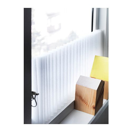 SCHOTTIS Pleated Shade White Window Search And Change 3