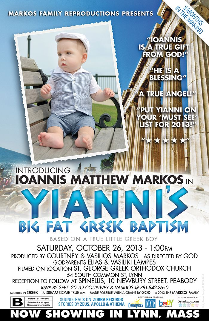 Baby Baptism Invitation Template