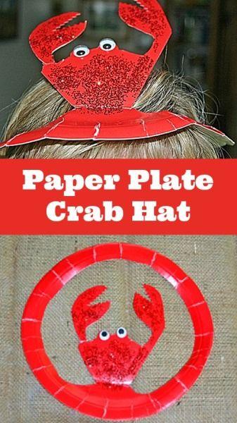 Paper Plate Crab Craft Images Origami Instructions Easy For Kids & Paper Plate Crab Craft Choice Image - origami instructions easy for kids