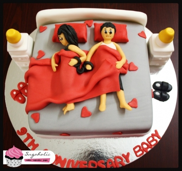 Such A Cute Anniversary Cake Called Quot Locked For Life