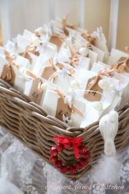 Kleines, feines Nestchen: Homestyle und Adventskalender im kleinen, feinen Nestchen…