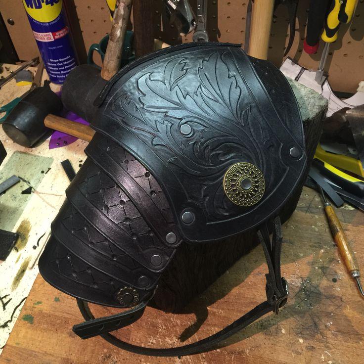 Sca Armor Shoulder Tattoos