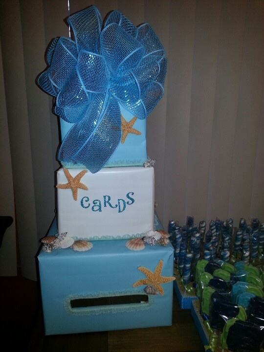 Under The Sea Card Box Lindsays Under The Sea Sweet 16