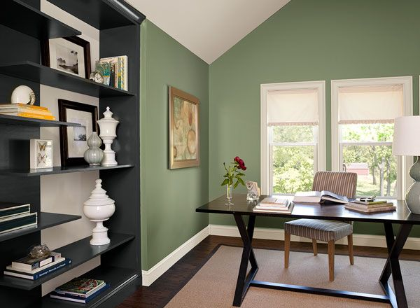 colour trends 2015 benjamin moore high park in a sleek on green office paint color id=33276