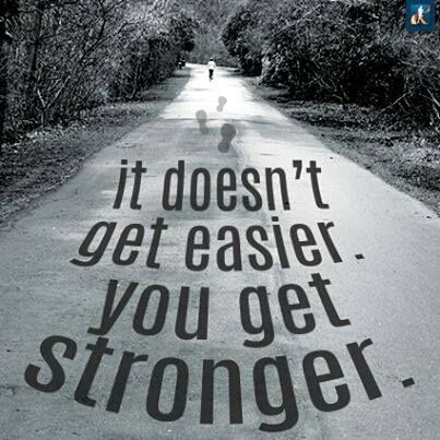 You Will Get Stronger. #workout #motivation #exercise #inspiration #quote #fitness:
