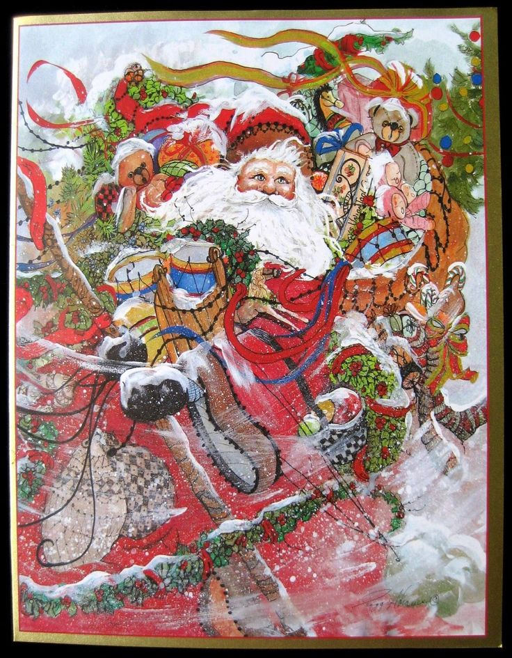 429 Best Images About ChristmasSanta Claus Is Coming To