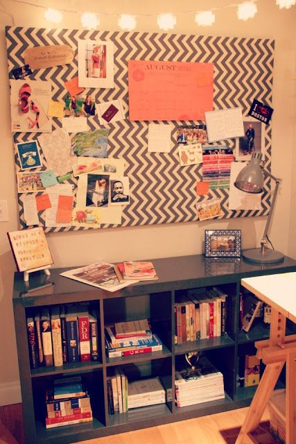 DIY large bulletin board