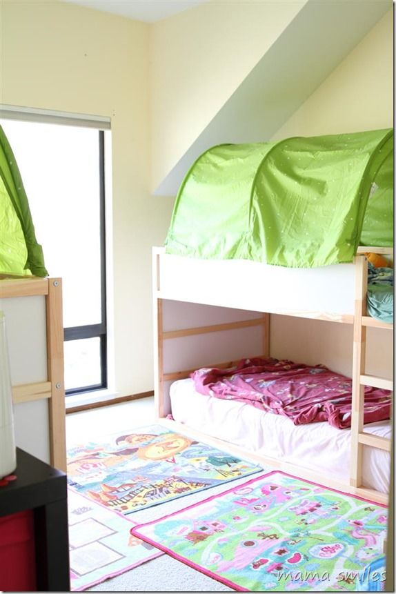 Tips For Small Space Living How To Fit Four Beds In One