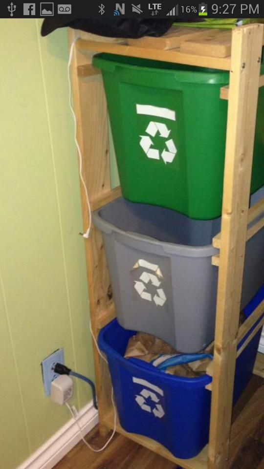 26 best images about recycle bin ideas on pinterest on garage organization ideas that will save you space keeping things simple id=77393