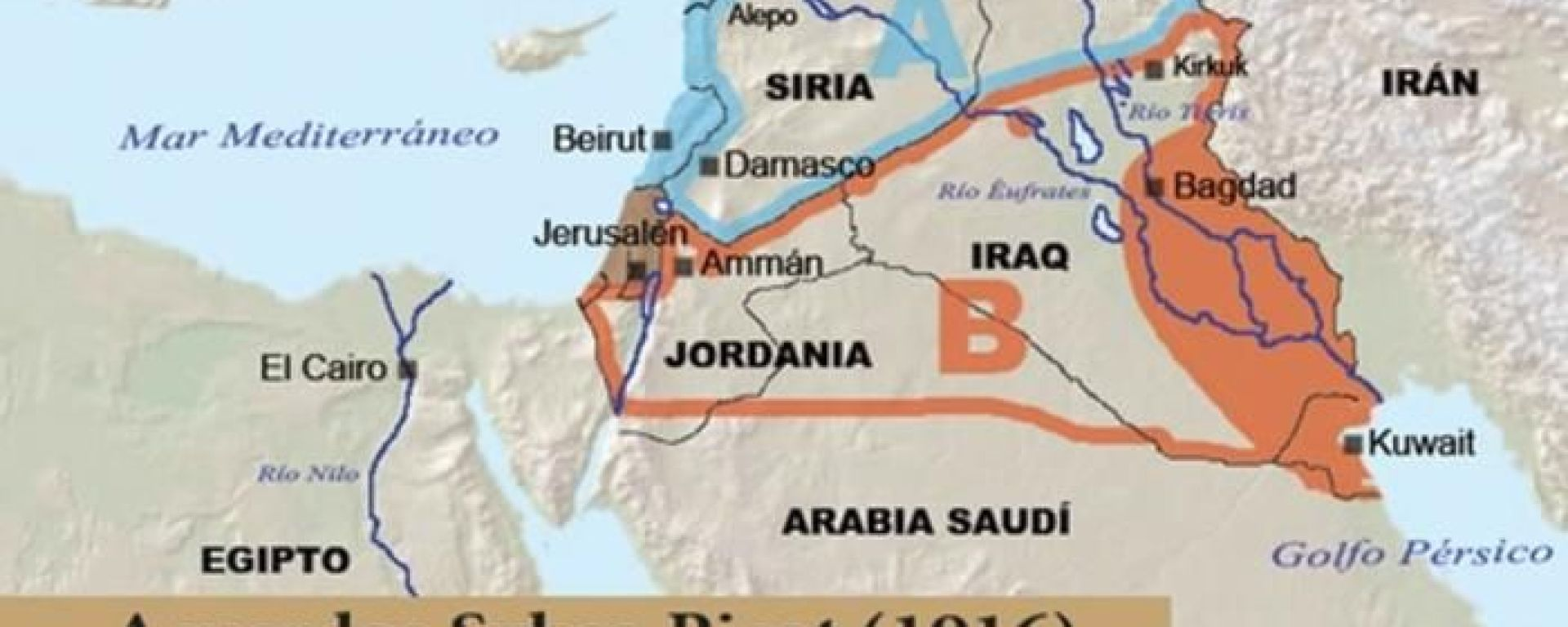How The Sykes Picot Agreement Helped Make A Messed Up Middle East