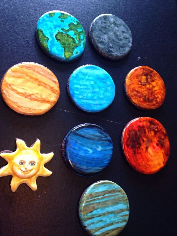 12 best images about Solar System cookies on Pinterest