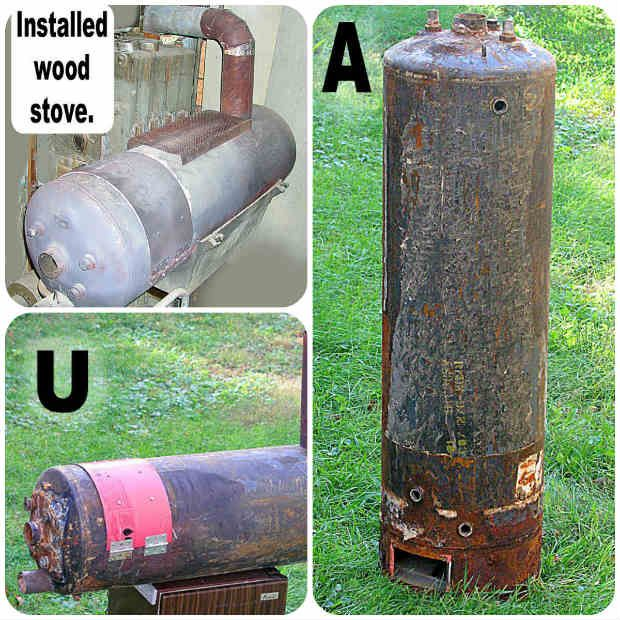 Rocket Stove Water Heater Images
