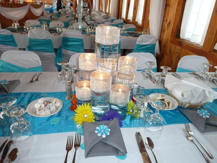 75 Best Images About M Amp K Malibu BlueSilver Wedding On