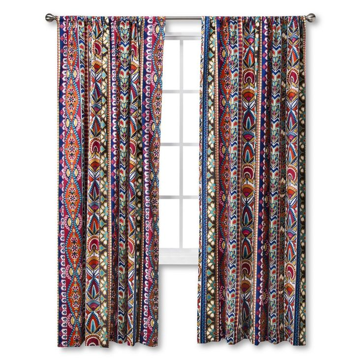 Mudhut Talavera Curtain Panel For Cuber Monday Home