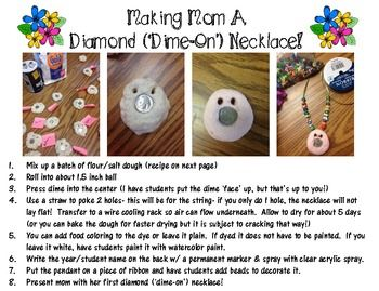 """Mother's Day Craft & Poem FREEBIE! Making a """"dime-on ..."""