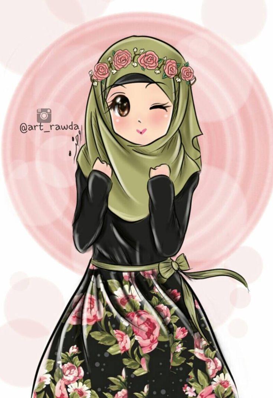Download 50  Gambar Animasi Muslimah Hd HD Gratis