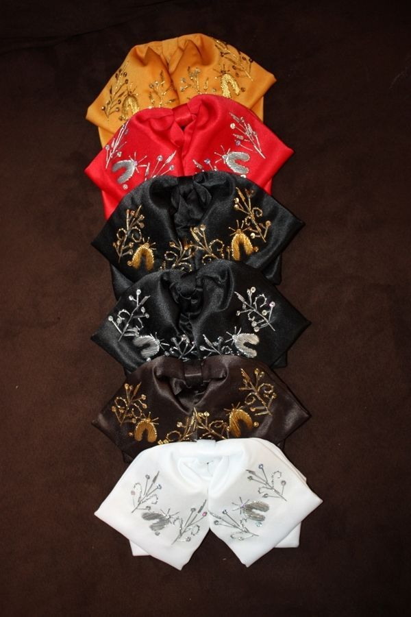 Details About Mexican Charro And Mariachi Bow Tie For Kids