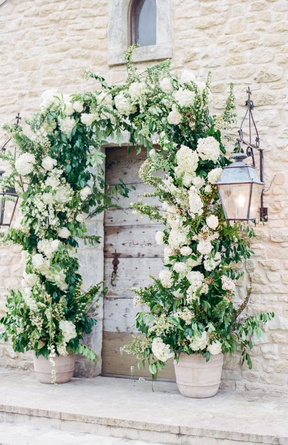 1000+ images about Wedding Ceremony Inspiration on ... on Wall Sconces For Greenery Decoration id=86789