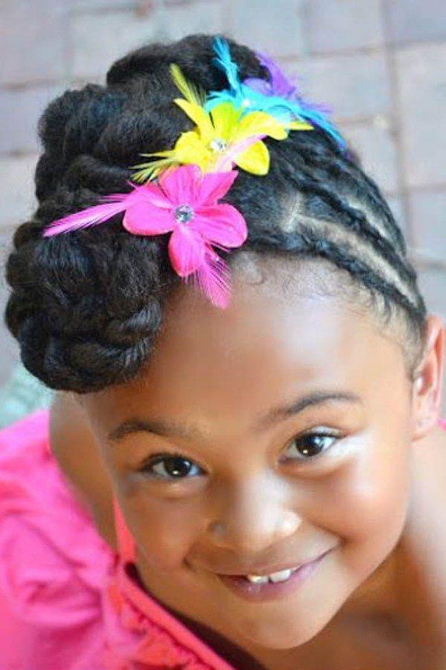 15 Peinados Fciles Y Bonitos Para Nias Con El Pelo Afro