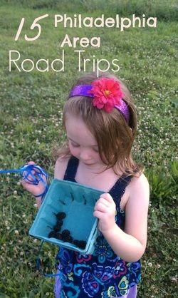 15 Fun Road Trips Near Philadelphia #daytrips #familytime ...