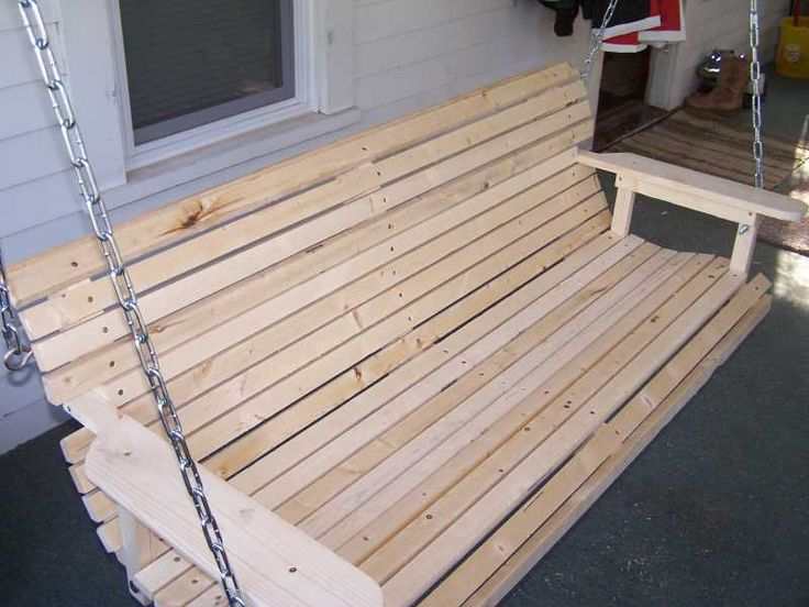 Homemade Porch Swing That Is Easy