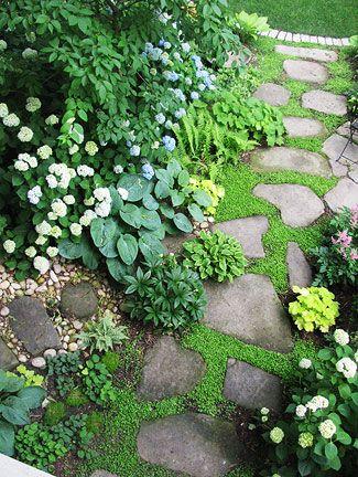 shade garden path ideas 1000+ ideas about Stone Walkways on Pinterest | Walkways