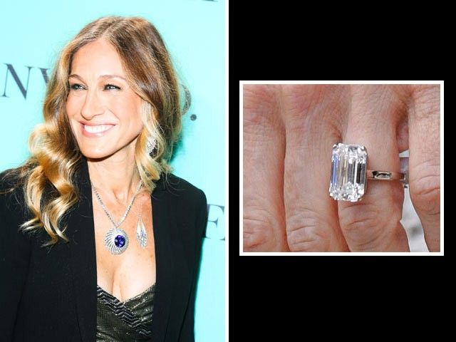 Sarah Jessica Parker Matthew Borderick Proposed With A 5