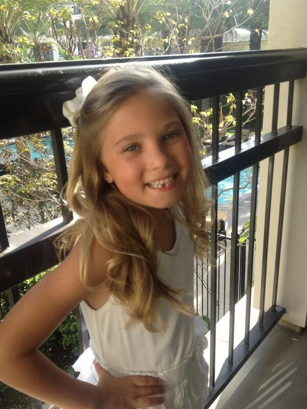 Rosie Lost Her First Tooth 03292013 Sophia Grace