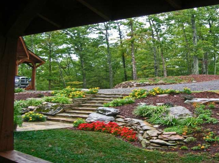 17 Best images about Tiered Retaining wall ideas on ... on Tiered Yard Landscaping id=11637