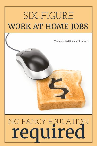 Awesome opportunities to make big money working from home
