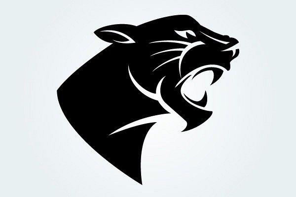 Panther Head Vector Silhouette Topvectors Com Patterns