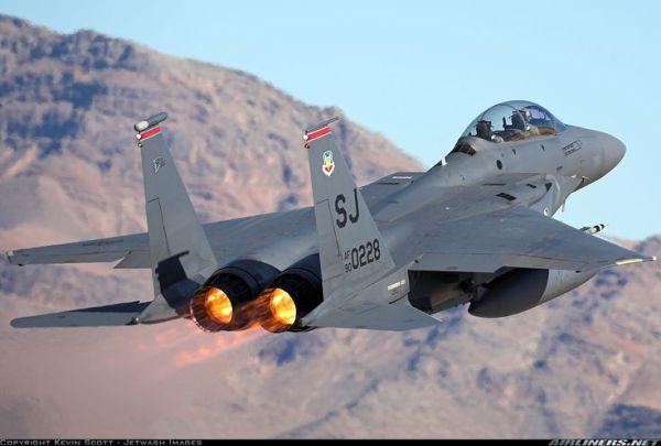 F-15E Strike Eagle Taking Off | Fighter Aircraft ...