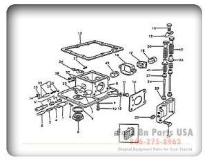 Ford 8N 10A01 Hydraulic Pump   Ford Tractor   Pinterest