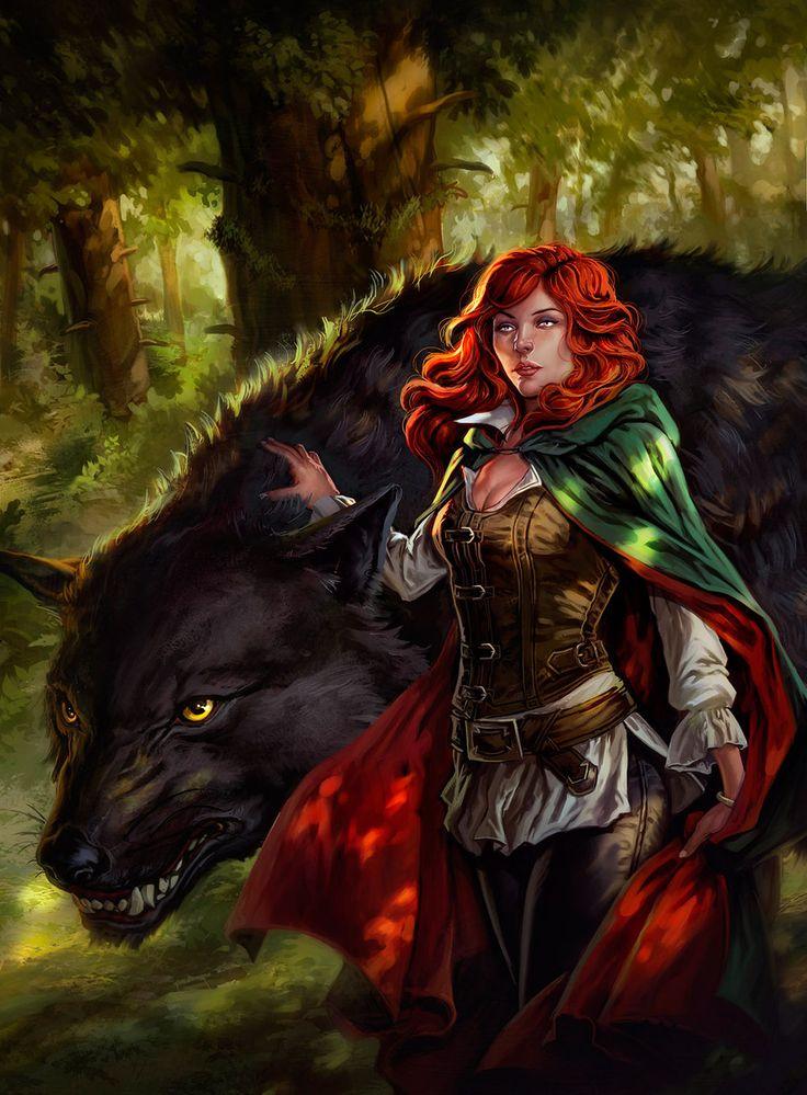 Female Elf Wizard Pathfinder