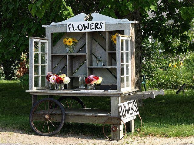 Farmers Market Flower Cart Pictures Of Roadside Flower