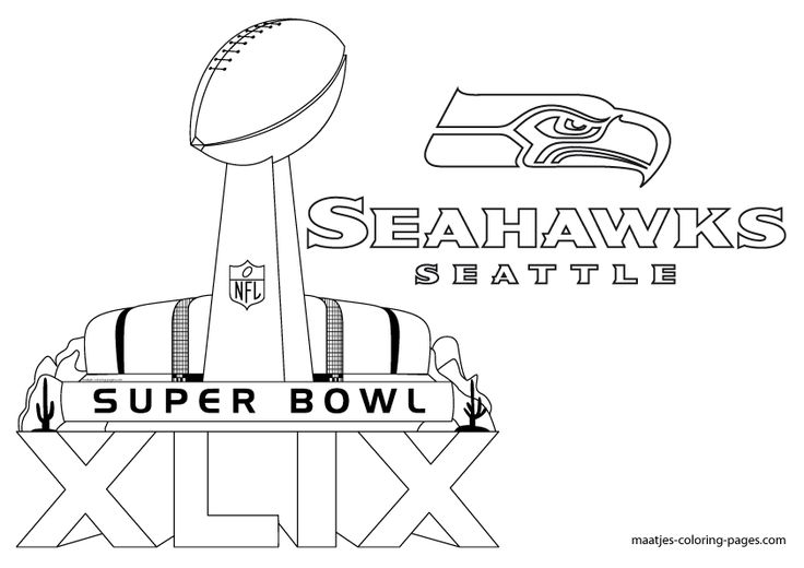 seattle seahawks pages coloring pages