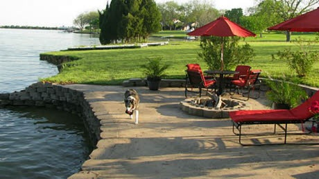 17 Best images about Lakefront landscaping on Pinterest ... on Lakefront Patio Ideas id=18006
