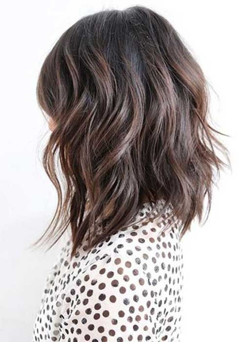 15 New Layered Long Bob Hairstyles | Bob Hairstyles 2015 – Short Hairstyles for Women