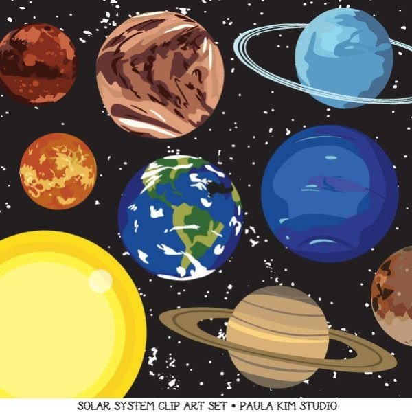 26 best images about Clipart on Pinterest Solar system