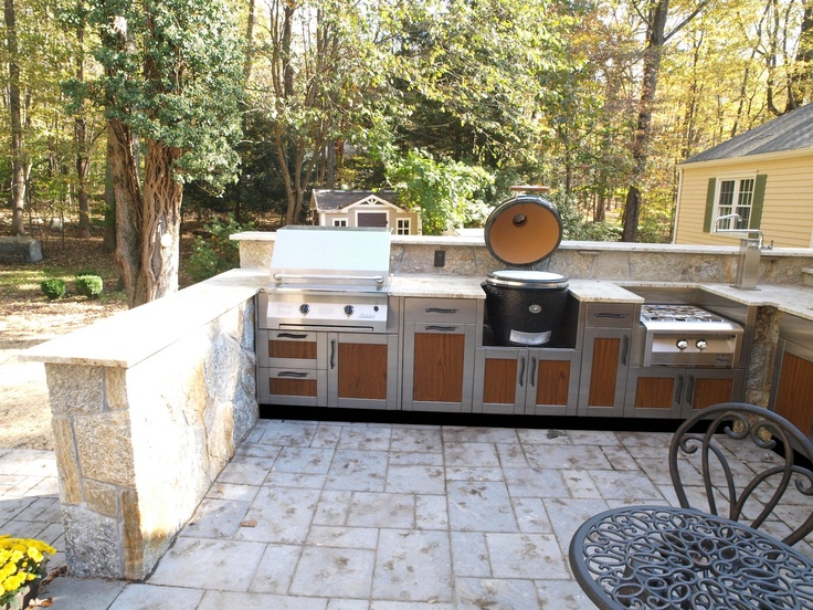 17 best images about charcoal grills on pinterest on outdoor kitchen with smoker id=19629