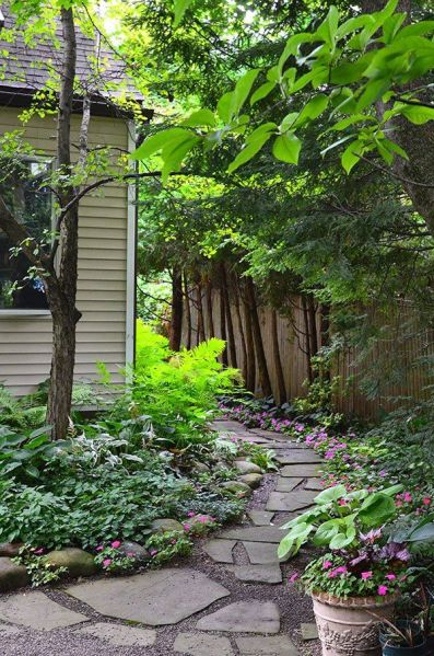 shade garden path ideas 91 best images about Walkway ideas, Patio & Borders on