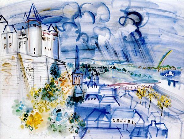 Chateau De Saumur Raoul Dufy French 1877 1953 What