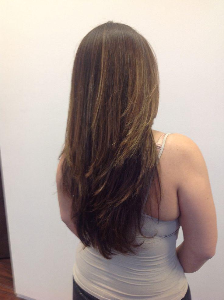 Long Cascading Layers Dres Hair Salon Scottsdale AZ