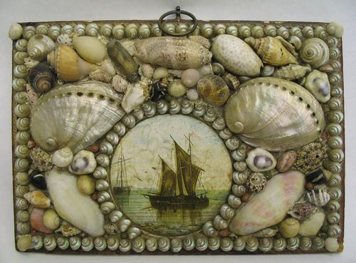 67 Best Images About Antique Victorian Shell Art On