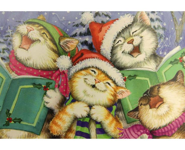 359 Bsta Bilderna Om Christmas Animals P Pinterest