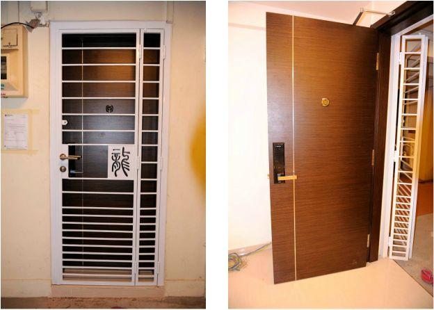 Customized Hdb Gate Door Samsung Shs 5050 At 2400