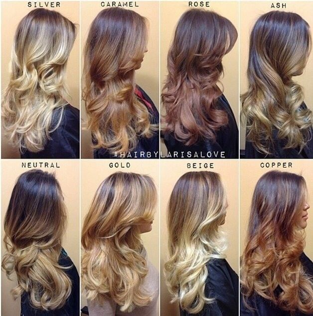 Amazing Ombre Hair Colour I