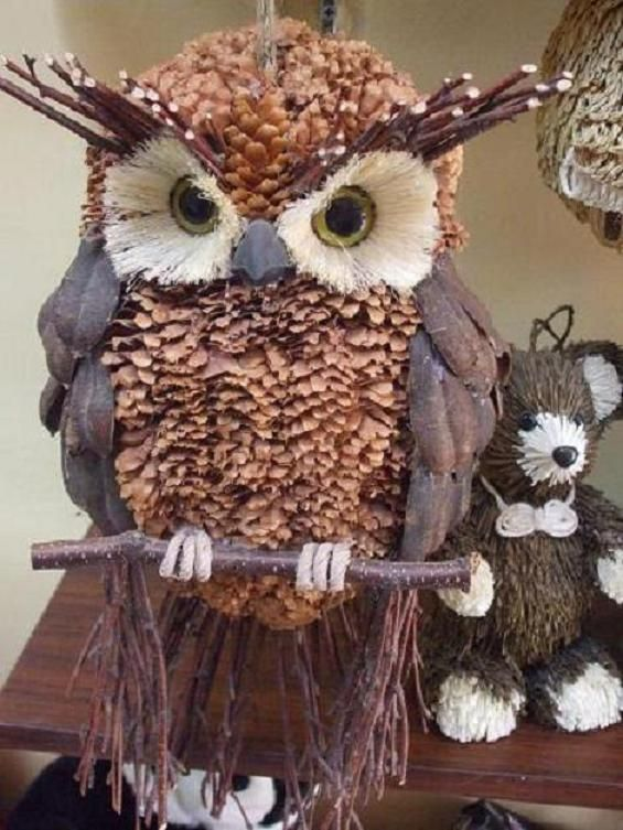 25 Best Ideas About Pinecone Owls On Pinterest Pine