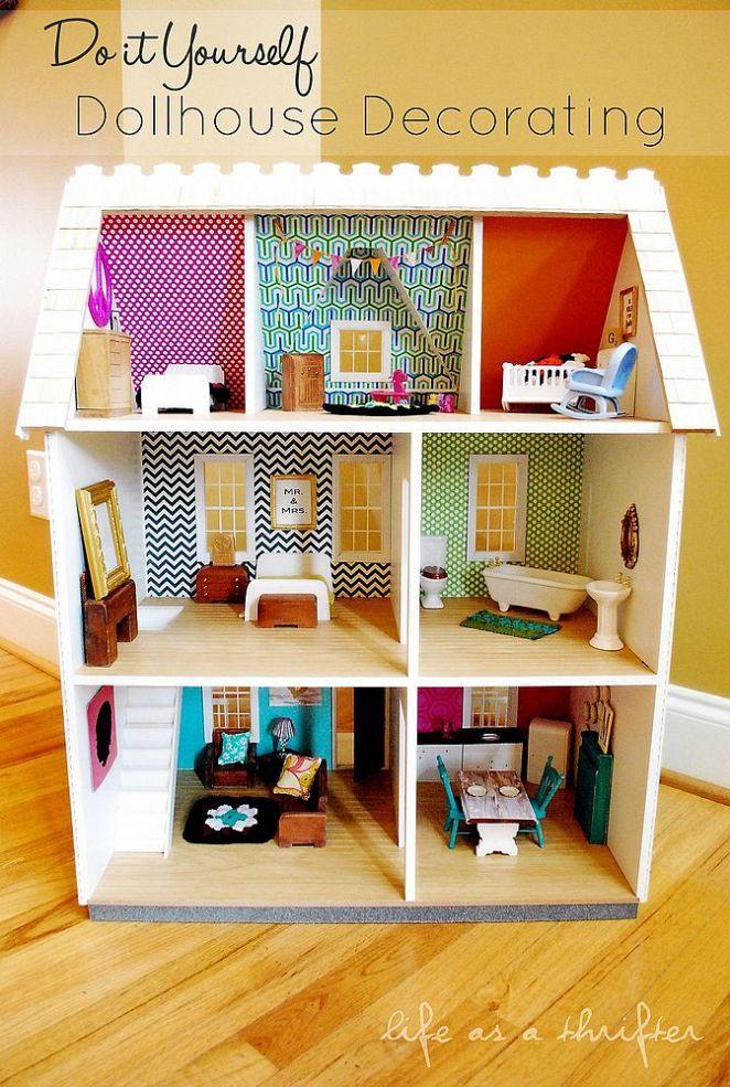 Do It Yourself Dollhouse Decorating Dollhouses Diy