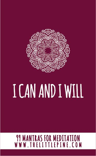 Positive Self Affirmations Examples